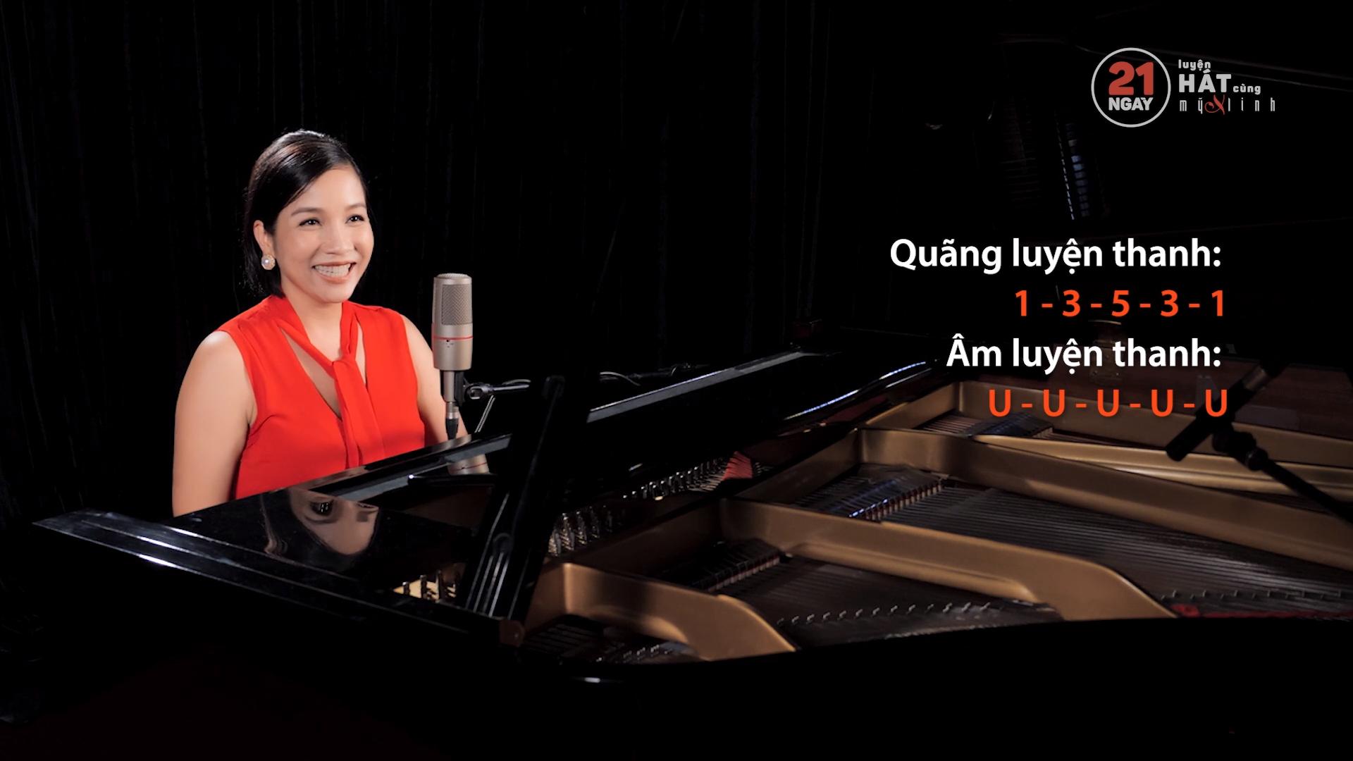 Luyện hát với ca sĩ Mỹ Linh